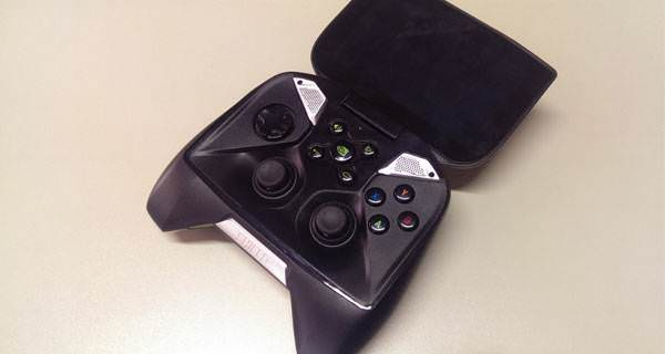 Nvidia Shield'in foto�raflar�