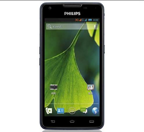 Philips'ten 5300 mAh bataryal� Android telefon!