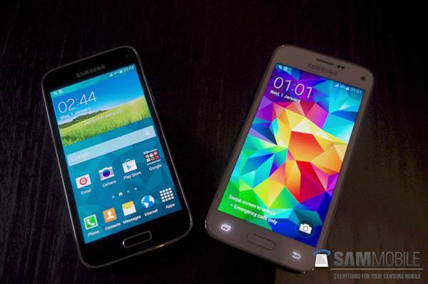 Samsung Galaxy S5 mini'nin �zellikleri ve foto�raflar�
