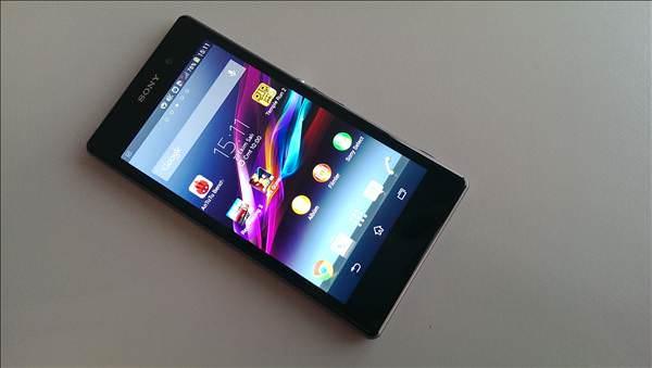 Sony Xperia Z1'in foto�raflar�