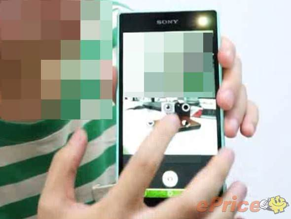 Sony'den �n tarafta flash ���kl� selfie telefonu geliyor