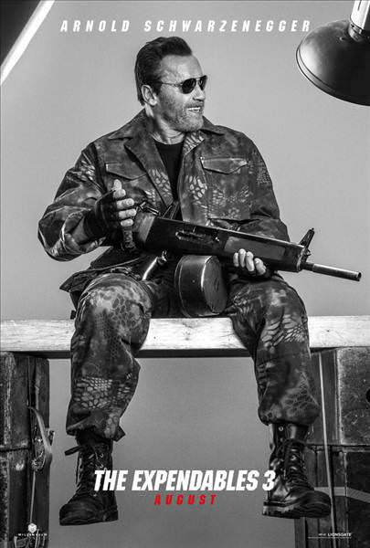 The Expendables 3'�n posterlerini g�rd�n�z m�?