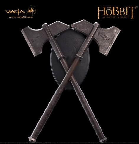 The Hobbit gelmeden �nce haz�rl�k. ��te silahlar!