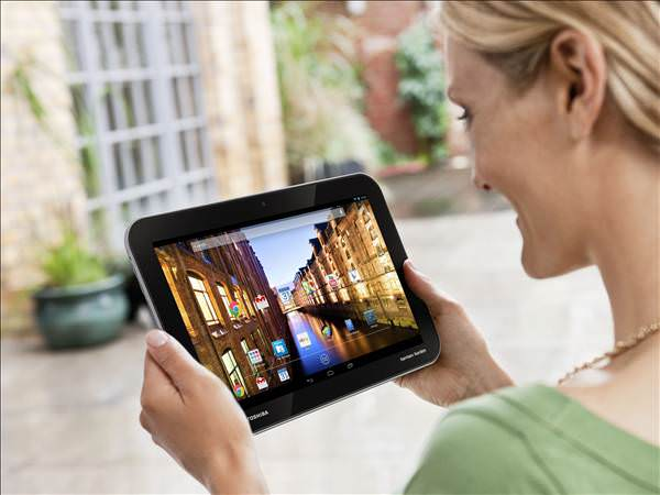 Toshiba'dan Android tablet serisi: Excite