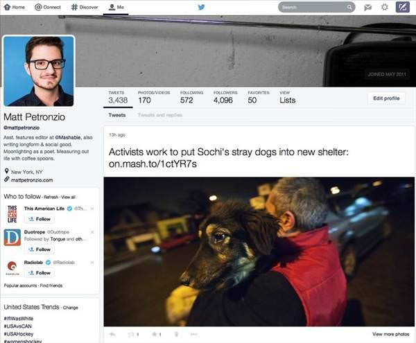 Twitter'�n yeni tasar�m� nas�l olacak?
