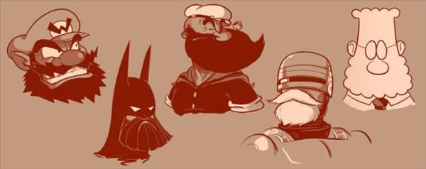 �nl� karakterler sakall� olsalard�