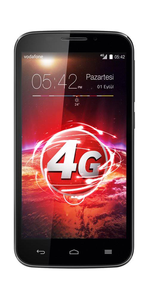 Vodafone'dan ilk 4G'li yerli ak�ll� telefon: Smart 4 Power