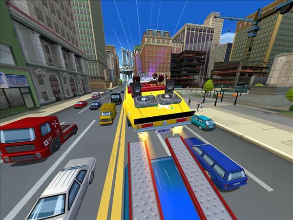 Yeni Crazy Taxi oyunu City Rush geliyor
