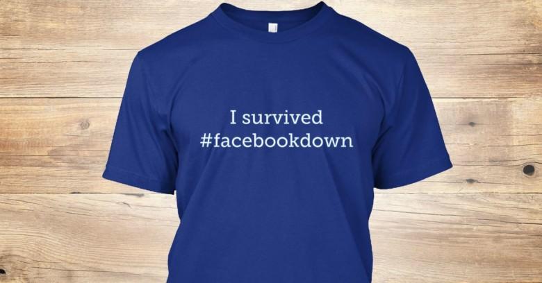 Facebook 1 saat ��kt�, sosyal medya y�k�ld�