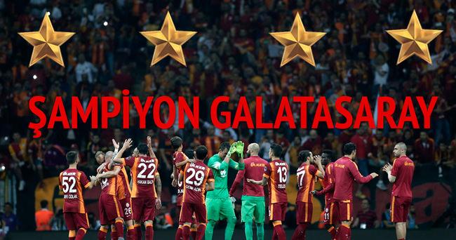 Galatasaray �ampiyon oldu, sosyal medya y�k�ld�