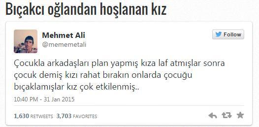 Twiter'�n son fenomeni ile tan���n: Mehmet Ali