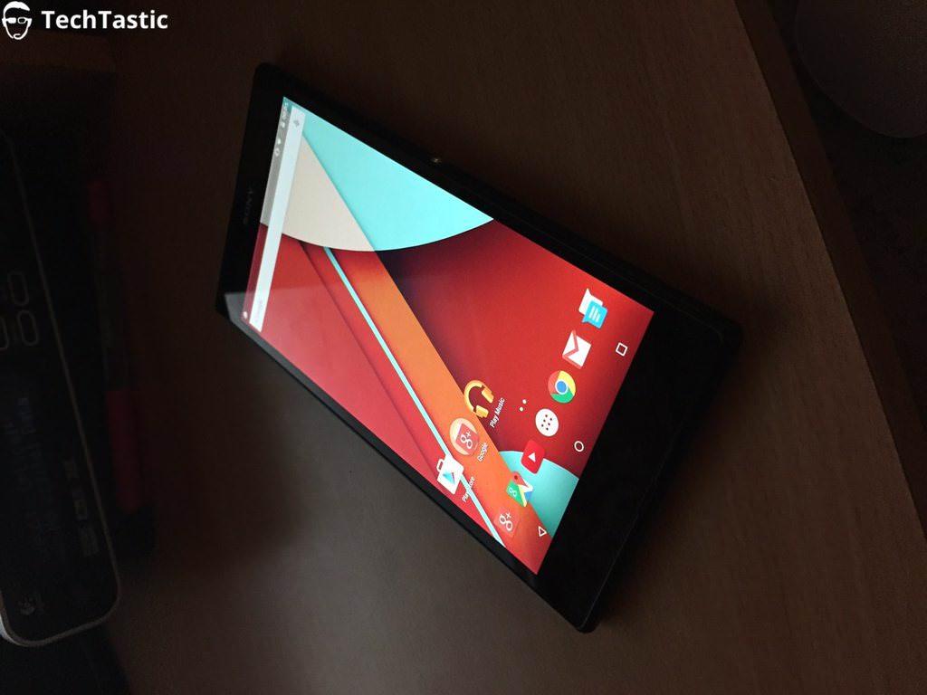 Android 5.0 Lollipop'lu Xperia Z Ultra'dan ilk g�r�nt�ler