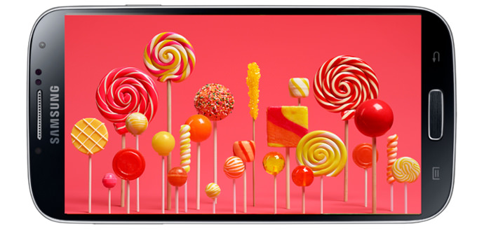 Android 5.0'l� Galaxy S4'ten g�r�nt�ler