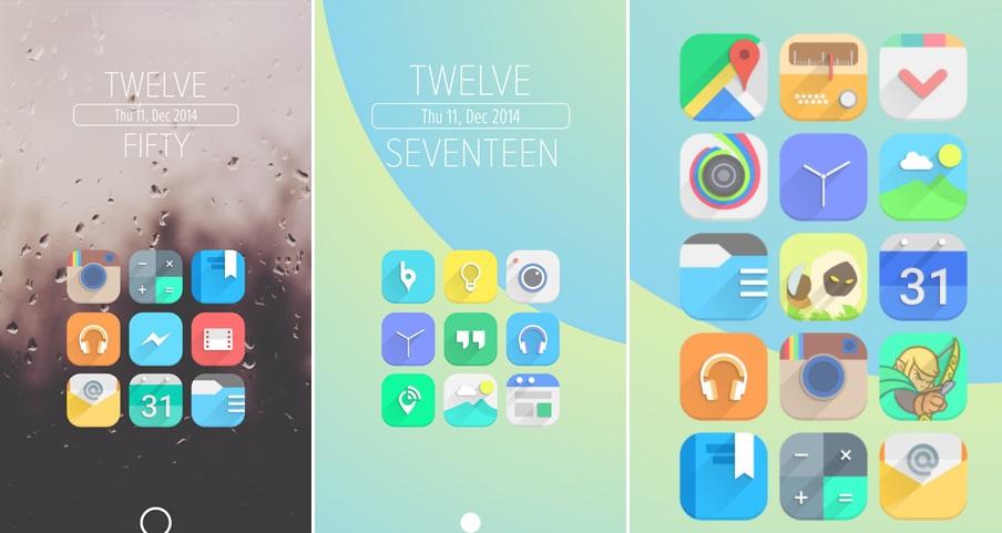 Android i�in en yeni ikon paketleri