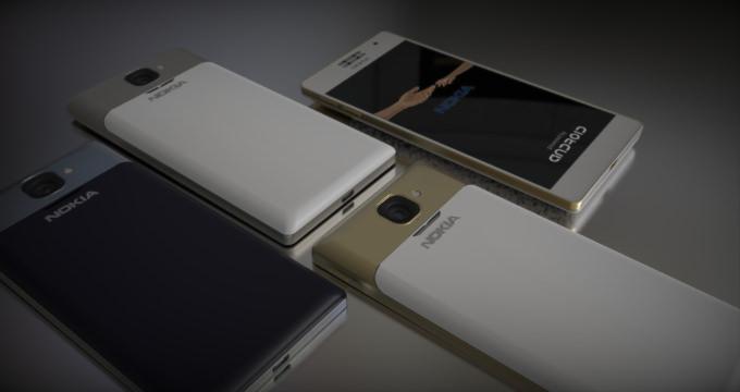 Android'li Nokia 1100 b�yle mi olacak?
