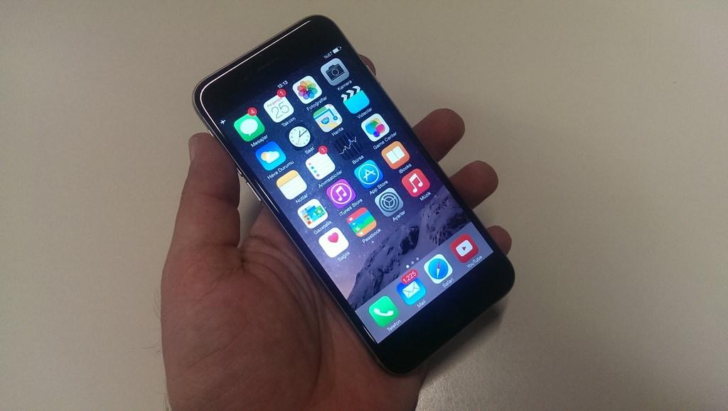 Apple iPhone 6'n�n foto�raflar�