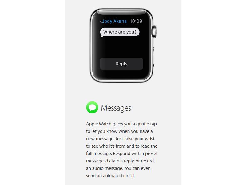 Apple Watch ile beraber gelen t�m uygulamalar