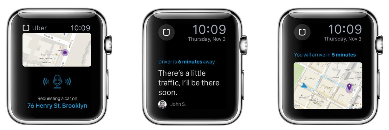 Apple Watch'da uygulamalar b�yle g�z�kecek