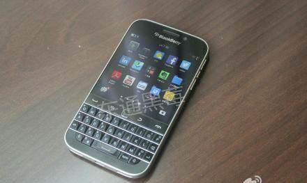 BlackBerry Classic'ten yeni foto�raflar
