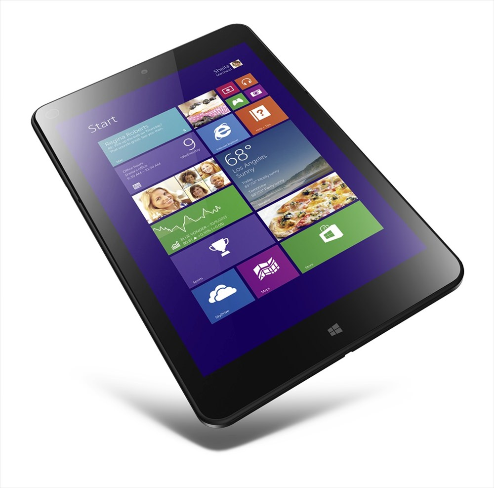 Emlak��lara �zel tablet: Lenovo ThinkPad Tablet 8