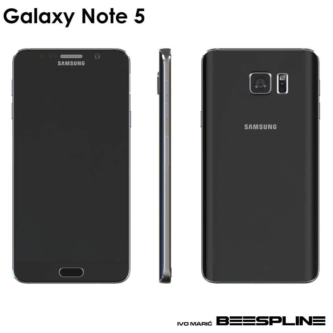 Etkileyici Galaxy Note 5 konsepti