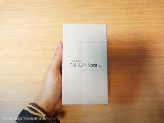Galaxy Note Edge'in kutusunda neler var?