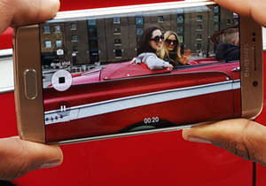 Galaxy S6 edge ve Galaxy S6�n�n seyahatseverler i�in geli�tirilen �zellikleri