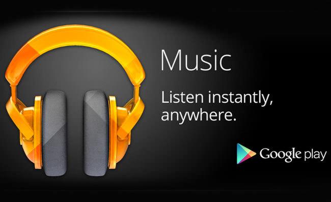 Google Play Music, materyal tasar�m�nda nas�l g�z�k�yor?