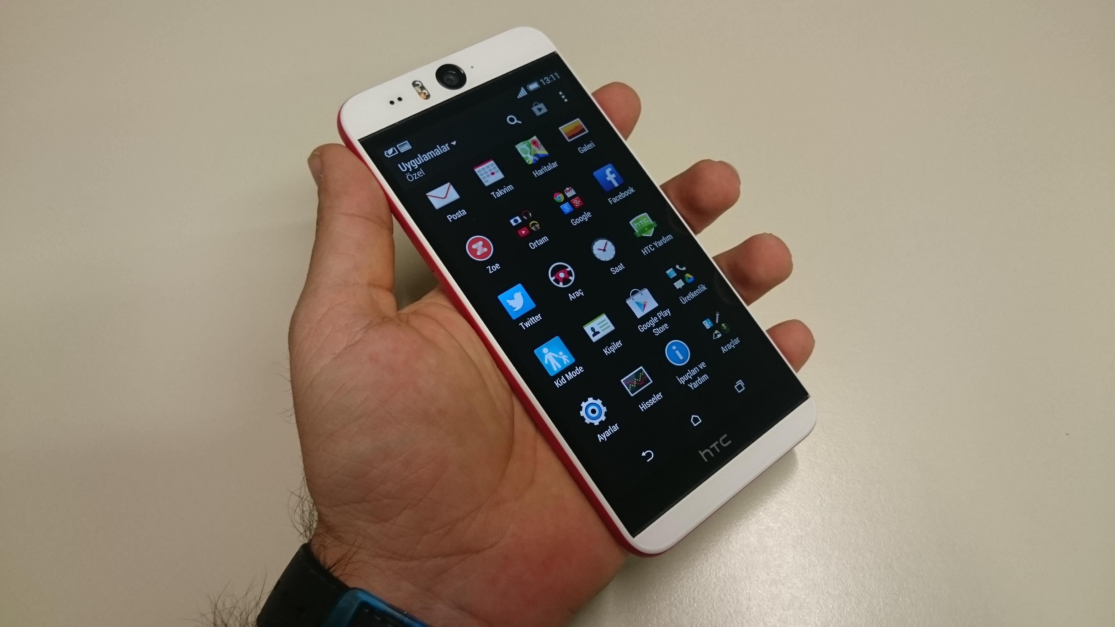 HTC Desire Eye'�n foto�raflar�