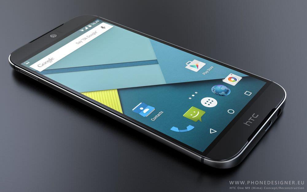 HTC One M9'un etkileyici konsept tasar�m�