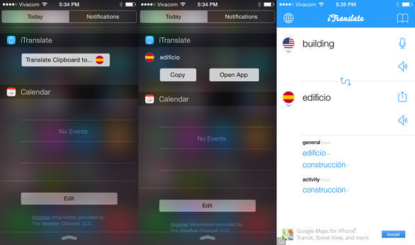 iOS 8 i�in en iyi widget'lar
