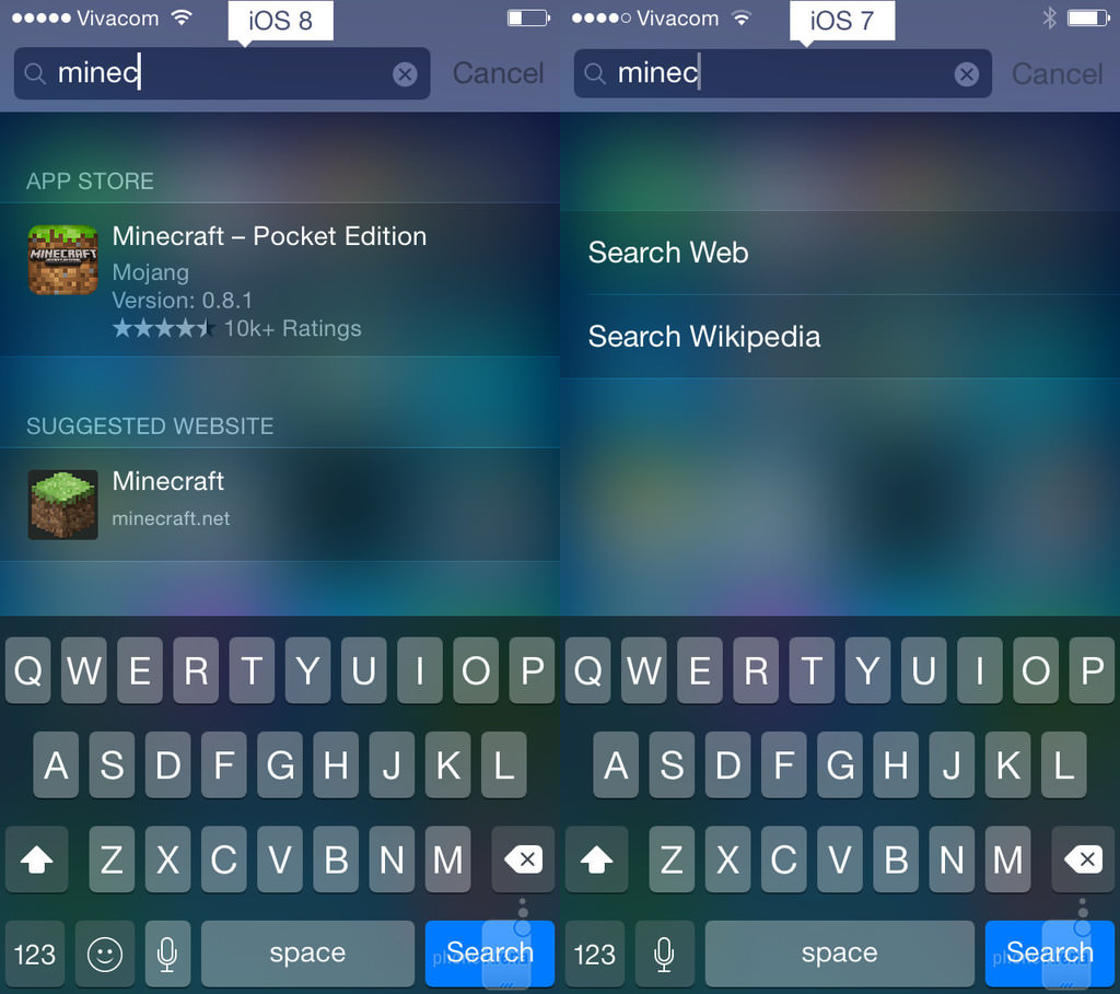 iOS 8 vs. iOS 7 - Neler de�i�ti?