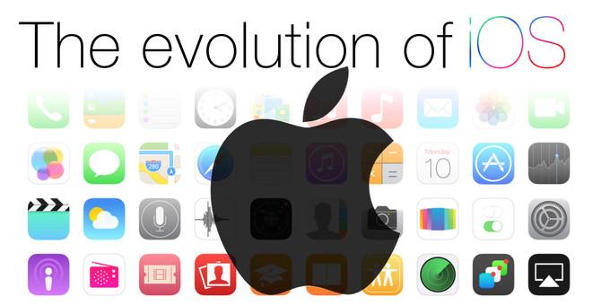 iOS i�letim sisteminin evrimi