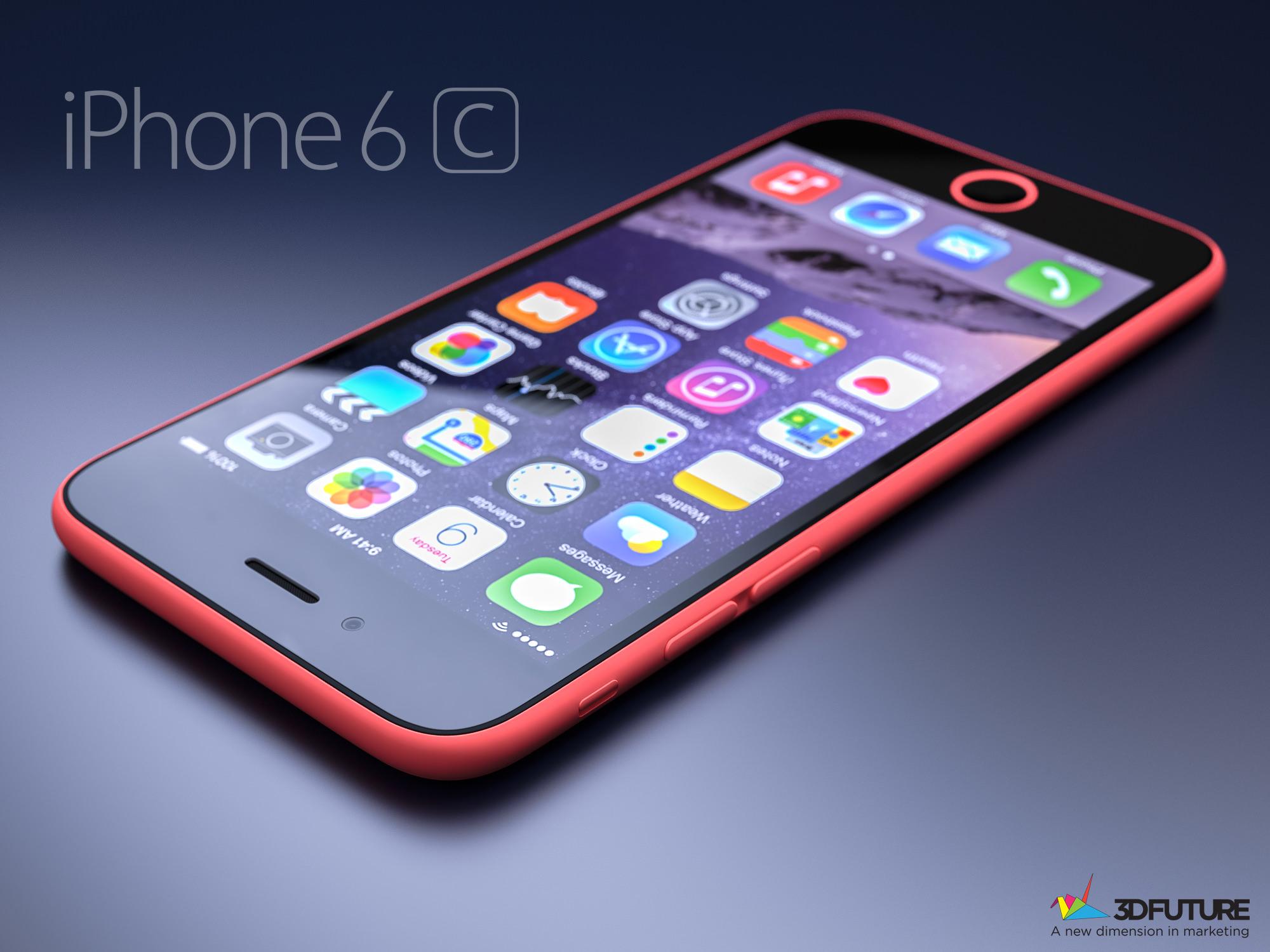 iPhone 6c konsepti ortaya ��kt�: ��k�nt�l� kamera, metal kasa ve fazlas�