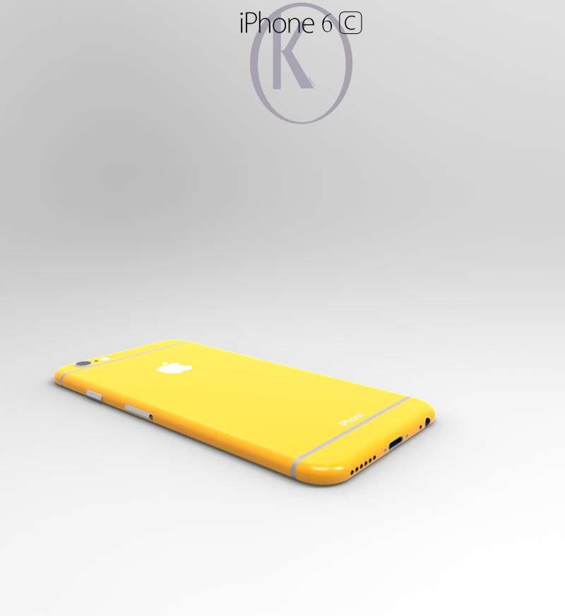 iPhone 6c'nin dikkat �ekici g�rselleri