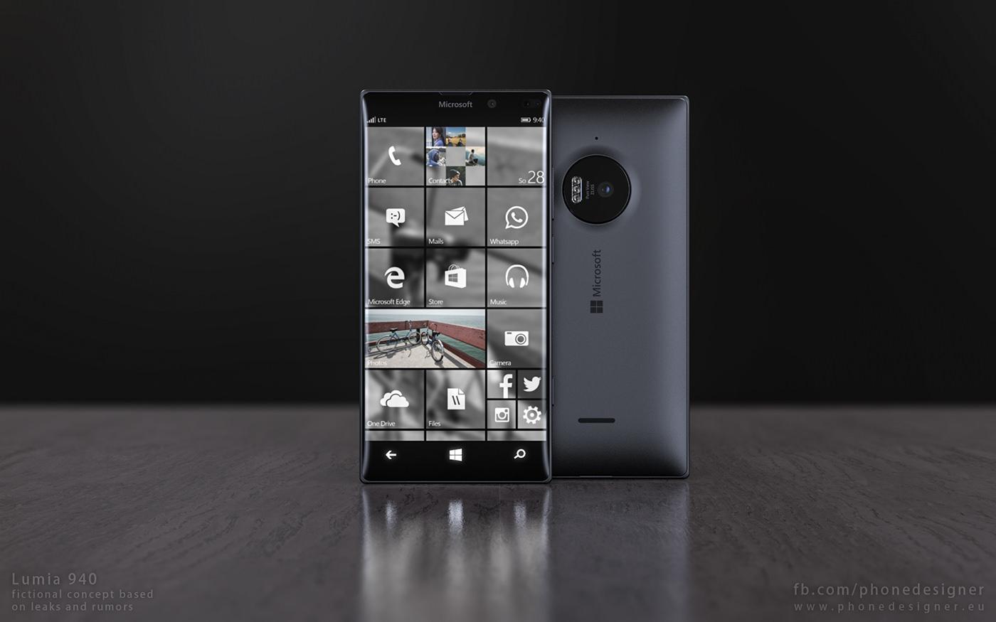 Kar��n�zda �er�evesiz Lumia 940 konsepti