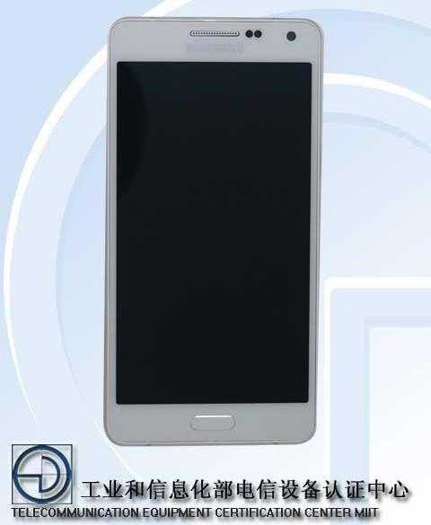 Kar��n�zda Samsung'un metal telefonu SM-A500