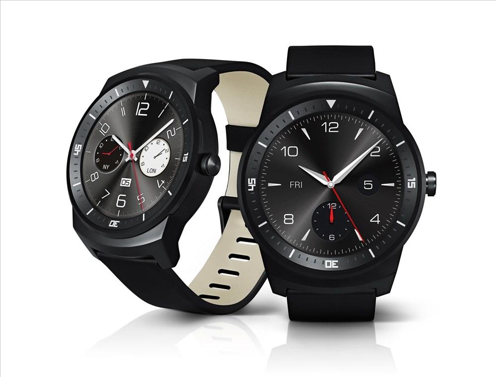 LG G Watch R resmen ortaya ��kt�