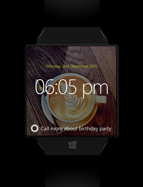 Microsoft'un Windows'lu ak�ll� saati nas�l olurdu?