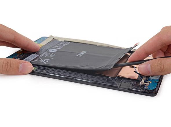 Nexus 9 tabletin tamiri biraz zor