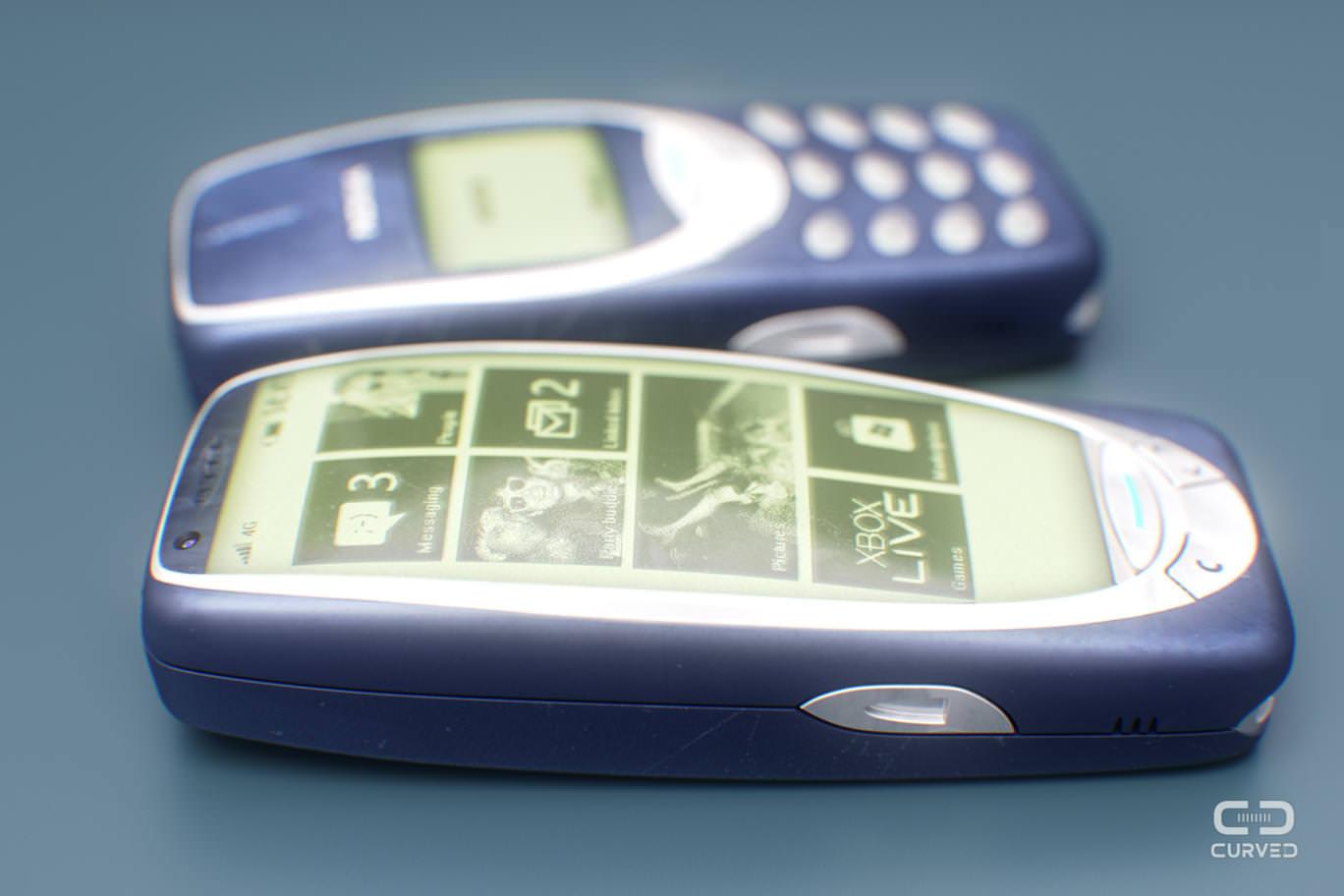 Nokia 3310 ve Ericsson T28s bir ak�ll� telefon olsayd� nas�l olurdu?