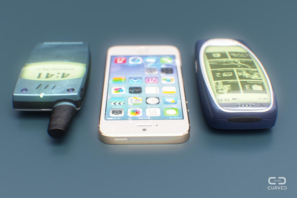 Nostaljik telefonlarda Android ve Windows Phone olsayd�?