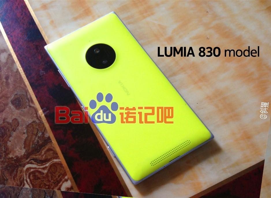 PureView'a sahip Nokia Lumia 830 IFA'da tan�t�labilir