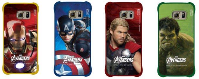 Samsung, Galaxy S6 i�in Avengers temal� aksesuarlar�n� yay�nlad�