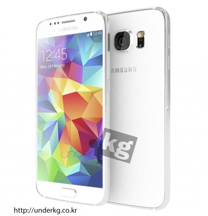 Samsung Galaxy S6'dan yeni resimler