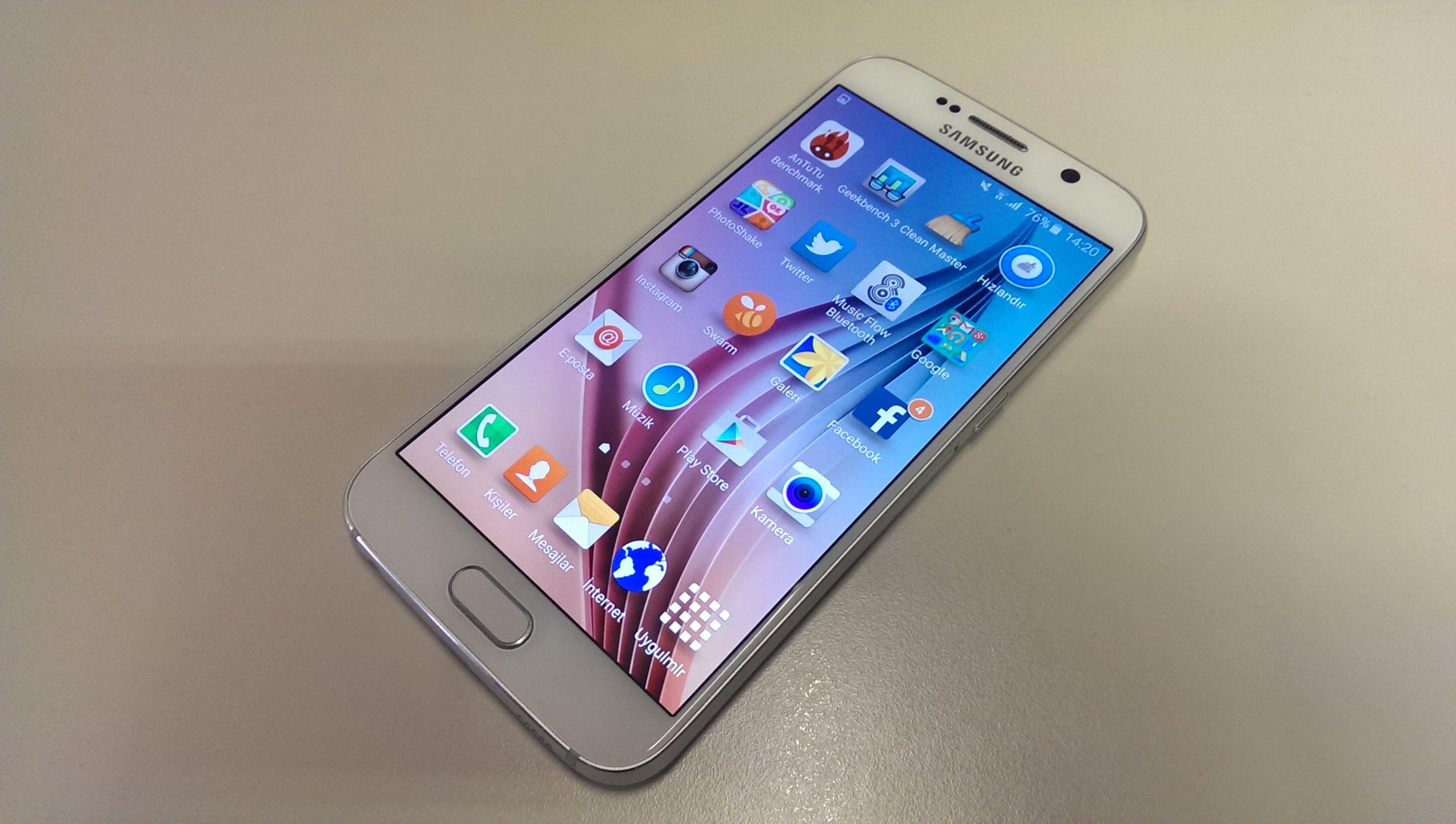Samsung Galaxy S6'n�n foto�raflar�
