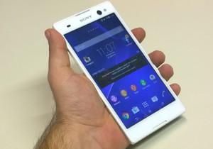 Sony Xperia C3'�n foto�raflar�