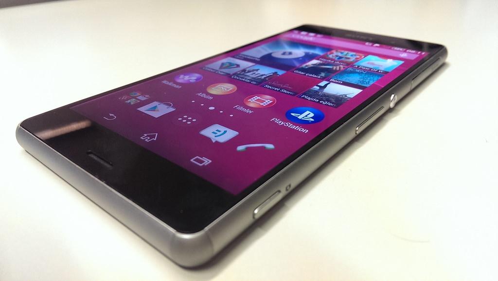 Sony Xperia Z3'�n foto�raflar�
