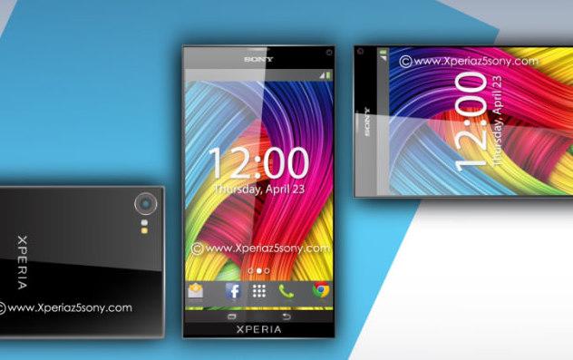 Sony Xperia Z5'in konsept g�r�nt�leri
