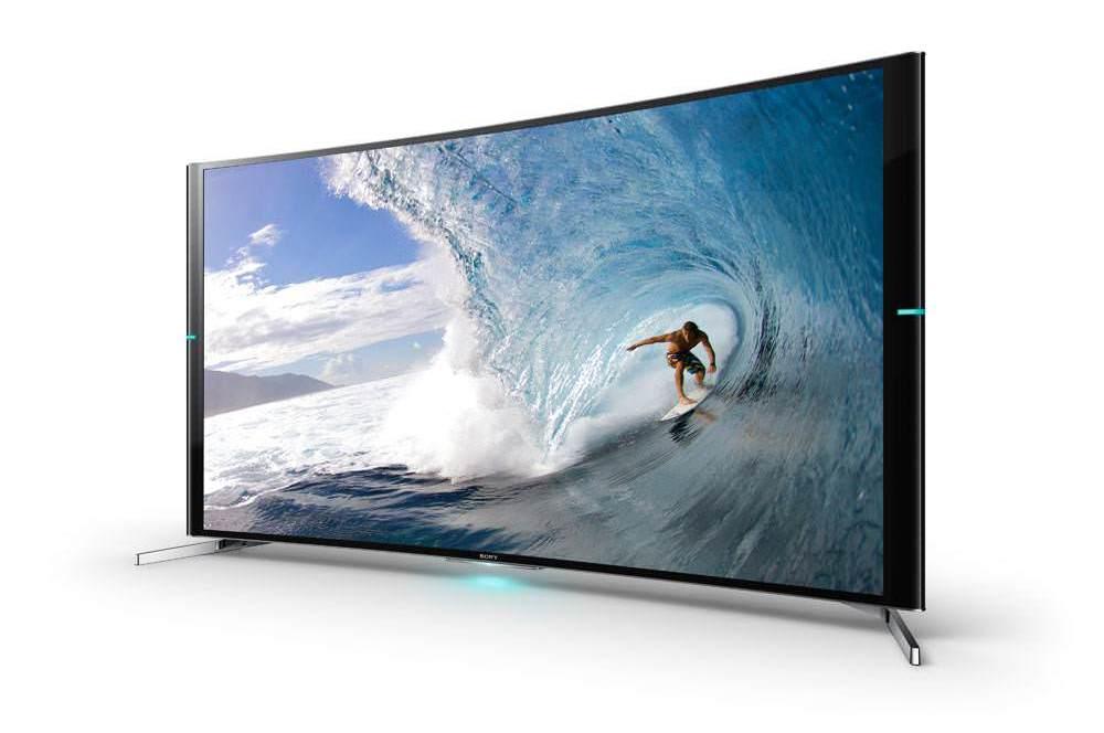 Sony'nin kavisli 4K TV'sine yak�ndan bakt�k